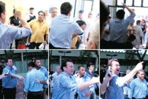 Kassab briga com morador em posto de saúde