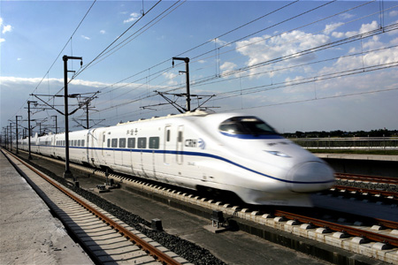 High Speed Rail In China. kilometers of high-speed