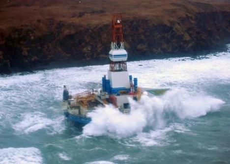 Shell arctic drilling